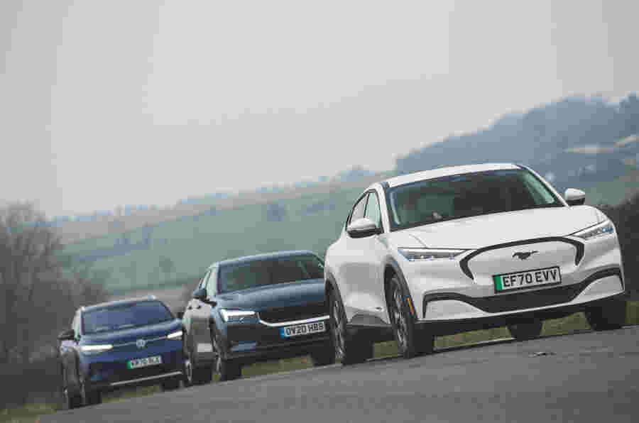 负责:VW ID 4和Ford Mustang Mach-E遇见Polestar 2