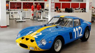 £2000万英镑的费拉利250 GTO恢复了