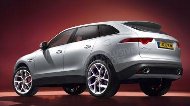 Jaguar F-Pace几乎被称为X型