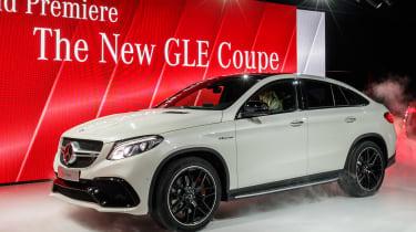 Mercedes-Amg Gle 63轿跑车在底特律展示中亮相