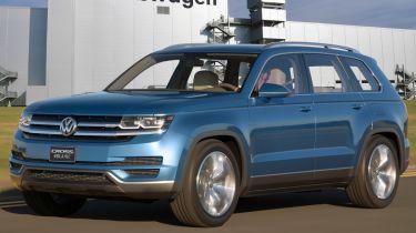 新的VW 7座SUV为田纳西州生产