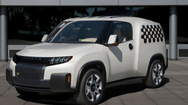 丰田推出U2城市公用事业概念