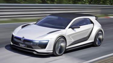 VW Golf GTE体育概念透露395BHP混合发动机