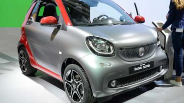 Smart Fortwo Cabrio在法兰克福展上开业