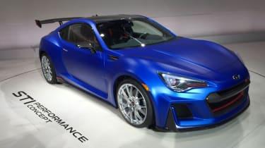 Subaru STI性能概念显示了STI的未来