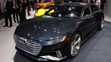 奥迪序幕先进的先行概念汽车首次亮相在日内瓦