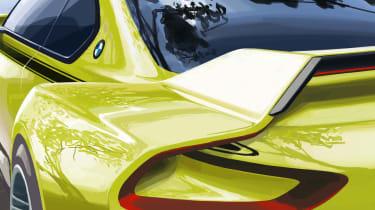 BMW 3.0 CSL Hommage概念戏弄