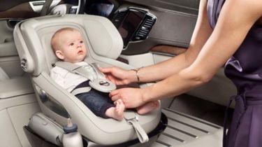 沃尔沃创造了终极豪华儿童汽车座椅