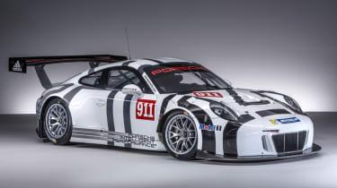 保时捷911 GT3 R赛车推出