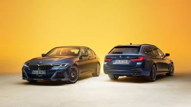 新的Alpina B5和D5 S基于BMW 5系列整体抵达