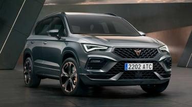 新的2020 Cupra Ateca Facelift透露了更多的技术