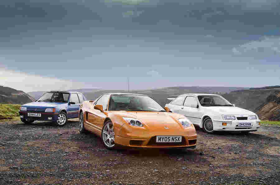 Untameables  - 本田NSX vs Peugeot 205 GTI VS Ford Sierra Cosworth