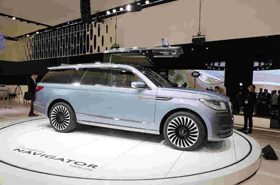 林肯航海家大型SUV概念在纽约透露