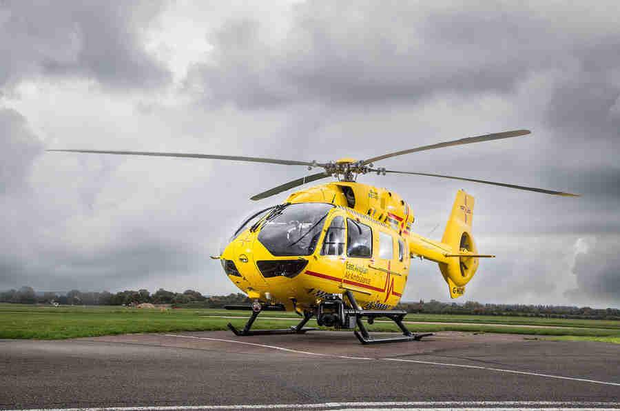 东阿利安空气救护车 - 圣诞节道路测试