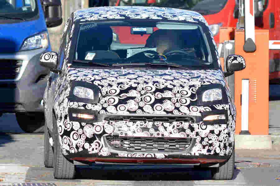2017 Fiat Panda Facelift:最新的间谍镜头