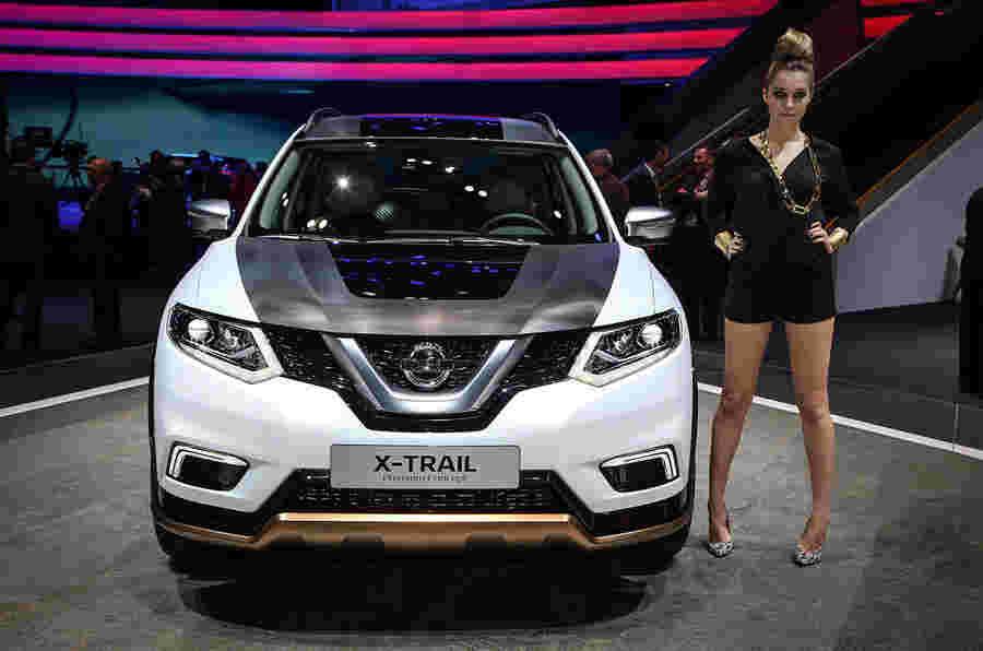 新日产Qashqai和日内瓦X-Trail概念汽车